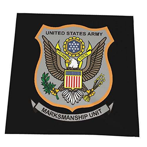 YUNJUAN Servilletas de Tela súper Suaves del ejército de los Estados Unidos, Reutilizables, Lavables, Fiestas navideñas, servilletas de Cena, 12 x 12 Pulgadas