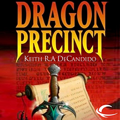Dragon Precinct audiobook cover art
