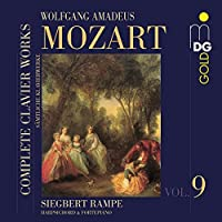Complete Clavier Works 9 by SIEGBERT RAMPE (2009-03-10)