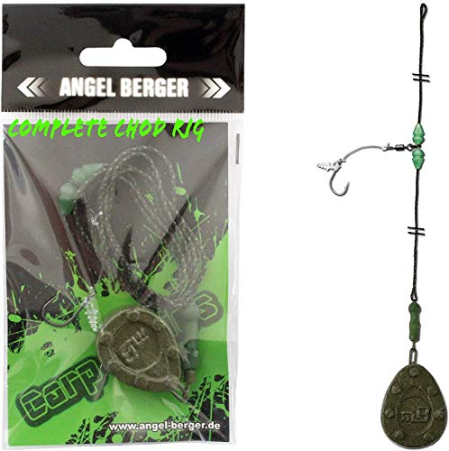 Angel-Berger Ready to Fish Complete Chod Rig Karpfenmontage