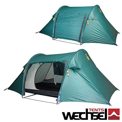 Professionale tenda a Tunnel Aurora 2Zero G Line commutatore Tents, 2persone, Super veloce e facile da costruire, minimo ingombro, estremamente leggero e resistente al vento