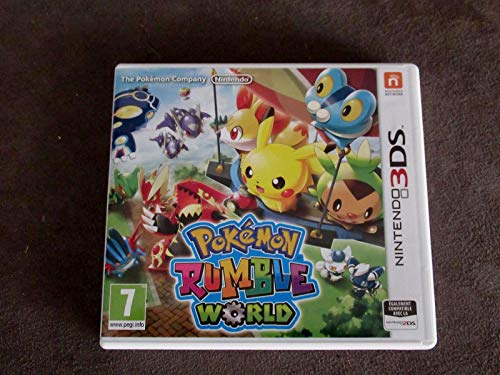 Pokemon Rumble World 3DS PEGI