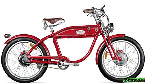 Italjet Elektrofahrrad in Motorrad Design, Ascot Sport rot