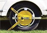 Motionperformance Essentials Stoplock Wheel pince Idéal pour les caravanes, remorques &