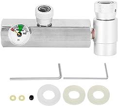 Jimfoty Adaptador de recarga cilíndrica, adaptador longo de refil de cilindro CGA320 com calibre de 3000 psi Silver Soda A...
