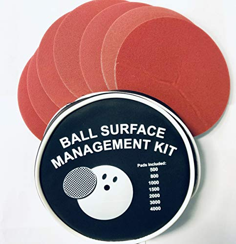 EMAX Bowling Ball Surface Management Kit Schleifset