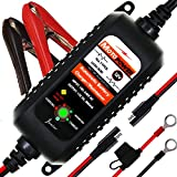 MOTOPOWER MP00205A 12V 800mA Entièrement Chargeur de Batterie Automatique/Mainteneur...