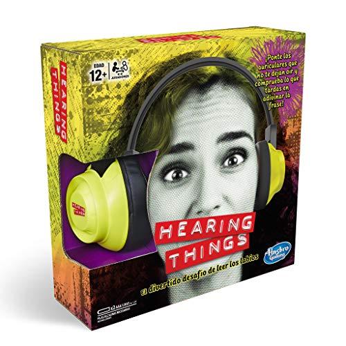 Hasbro Gaming - Juego de mesa Hearing Things (E2617105)