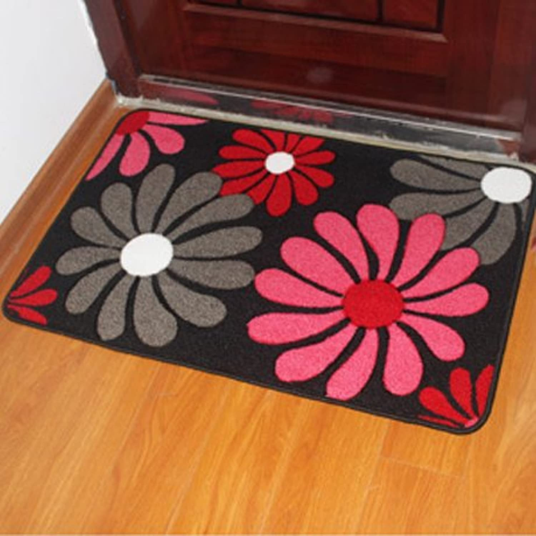 JinYiDian'Shop-Mats Door Mat Feet Bedroom Bathroom Skidproof ,48X78Cm, Daisy-Chained