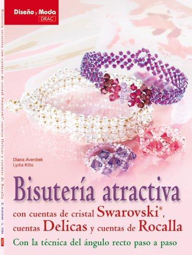 Bisuteria atractiva con cuentas de cristal Swarovski / Attractive jewelery with Swarovski crystal beads: Cuentas Delicas y cuentas de Rocalla con la ... Seed Beads With Angle Technique Step by Step