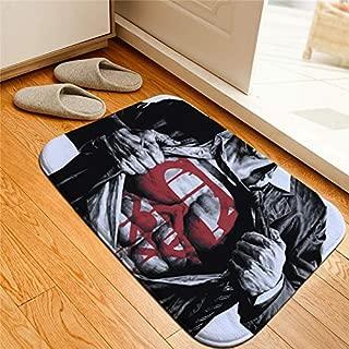 Monster* Door Mats Superhero Superman Printed Floor Mats Anti-Slip Rugs Batman Figure Carpets Welcome Doormat Bathroom Carpet Kitchen Mat Gift (6)