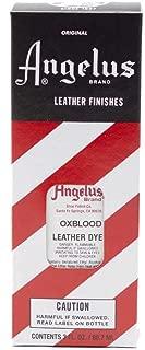 angelus oxblood leather dye