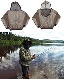 shop1234net Bug (Mosquito) Jacket, Ultra Light and Fine, Size XXL