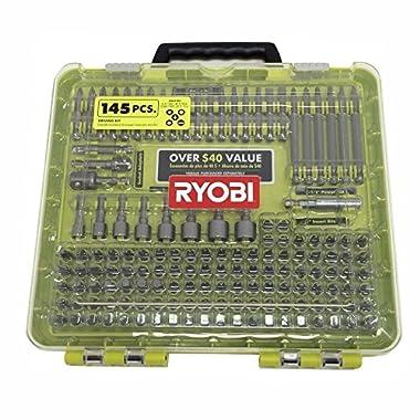 Ryobi A961451 145 Piece Driving Bit Set