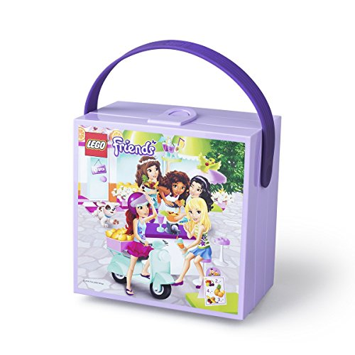 LEGO Friends Lunch Box with Handle, Lavender