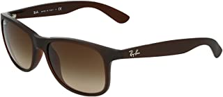 Ray-Ban Andy Wayfarer Men's Sunglasses - 55-17-145 mm