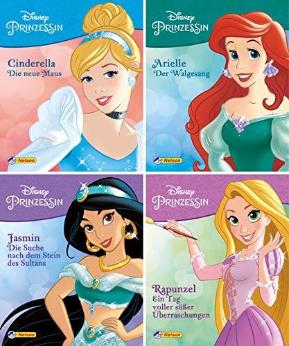 Nelson Mini-Bücher: 4er Disney Prinzessin 5-8