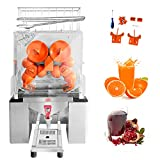 Minocool Pro Commercial Juicer, 110V 120W Automatic Commercial Orange Juicer Machine with Faucet...