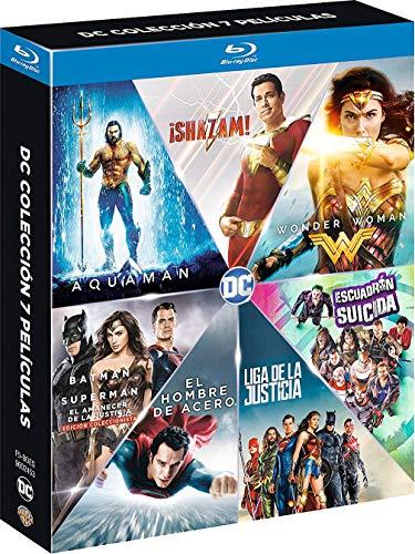 Dc Colección 7 Películas (2019) Blu-Ray [Blu-ray]