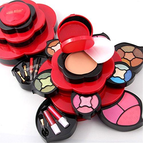 Pure Vie® Professionelle Concealer Rouge Multicolor Lidschatten und Lipgloss Palette Schminkset -...