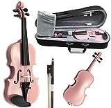 SKY Brand New Children's Violin 1/10 Size Pink Color