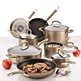 Circulon Premier Professional 13-Piece Hard-Anodized Cookware Set (8 Cooking Vessels and 5 Lids)...