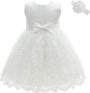 5198ab51dfbca AHAHA Robe Bebe Fille Ceremonie Princesse Mariage Robe Bapteme Fille Bebe