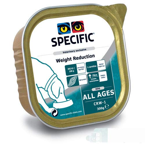 Specific Canine Adult CRW-1 Weight Reduction Caja 6X300Gr 1800 g