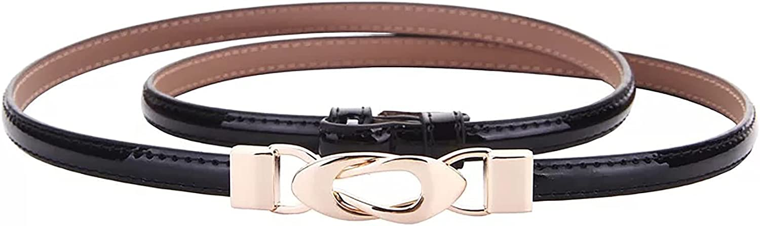 Women Skinny Leather Belt Weekly update Waist for Max 49% OFF Dress Jeans-Ladies
