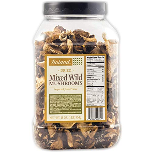 Roland Foods Dried Mixed Wild Mushrooms Specialty...
