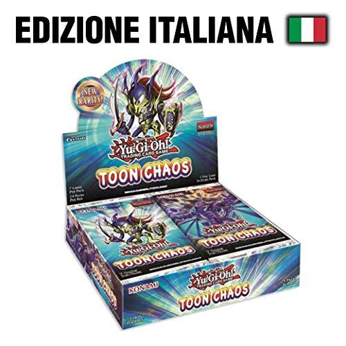 Konami- Box Yu-Gi-Oh-Toon Chaos (24 Buste) -ITA