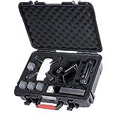 Smatree Tragetasche für DJI Spark, wasserdichter Drohnenkoffer für 4 Batterien, Fernbedienung, Ladegerät und Propellerschutz