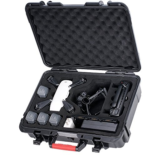 Smatree Waterproof Carrying Case Compatible for DJI Spark, Portable Hard Case for DJI Spark Fly More Combo
