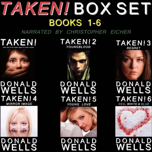 Couverture de Taken! Box Set - Books 1-6