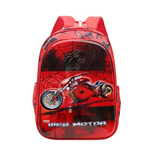 Tinytot Designer 26 Litre Hi-Storage School Bag Backpack for Boys & Girls