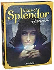 The first-ever expansion for Splendor Four new expansions for Splendor in a single box, each offering a unique experience Each expansion highlights and enhances a separate aspect of the original game Four different expansions with dramatically differ...