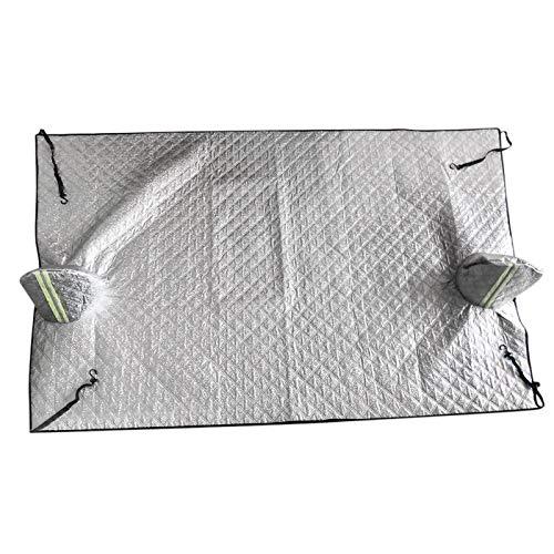 Scucs - Protector de nieve para parabrisas de coche, 240 x 150 cm