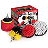 Drillbrush Drill Brush Power Scrubber Attachments - Bathroom Kitchen Cleaning Supplies - Tile