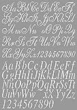 Dutch Doobadoo Stencil Art A4 Lettera 2
