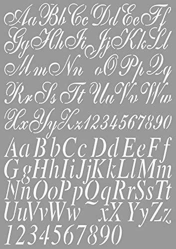 Dutch Doobadoo 470.455.002 Schablone Art A4 Buchstaben 2