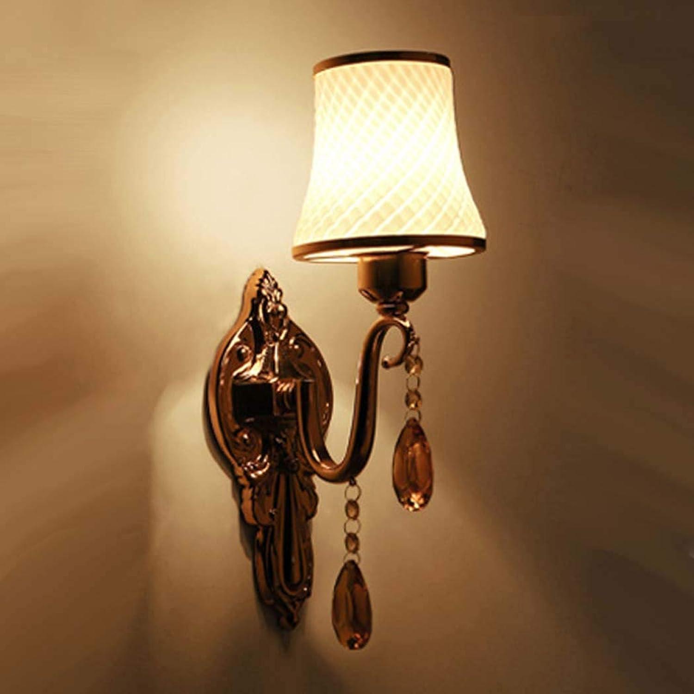 DSHBB Glaswandleuchte, Kreative Moderne Romantische Wandleuchte, Nachttischlampe Ganglampe Korridorlampe, Für Schlafzimmer, Wohnzimmer Dekoratives E27 (Farbe   B, Gre   Einzelner Kopf)