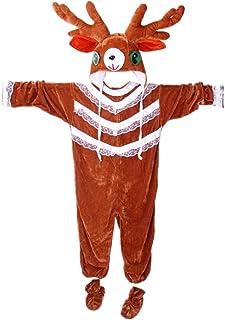 STOBOK Disfraz de Reno Disfraces Elegantes de Reno Disfraces Fiesta de Navidad Trajes de Cosplay para niños niños y niñas - 90cm
