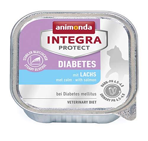 Animonda Integra Protect, Cibo Umido per Gatti Che Soffrono di diabete mellito [Etichetta in Lingua Italiana Non Garantita]