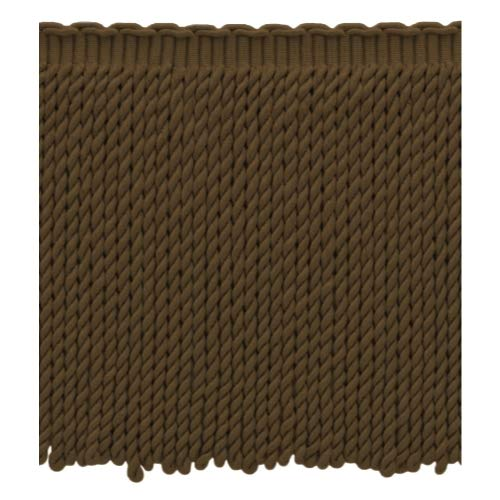 DecoPro Frange marron de 23 cm de long | Style # BFEMP9 (21926) | Couleur : E03|Vendu au mètre – 91 cm