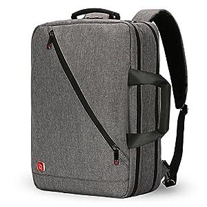 Nuevo 3-Ways 17 Pulgadas Laptop Mochila Maletín Bolso Messenger Messenger Mochila de Negocios para la Escuela/Bolsa de…