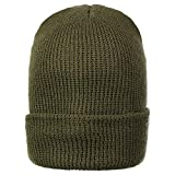 Genuine GI 100% Wool Military Watch Cap (1 Pack, OD Green)
