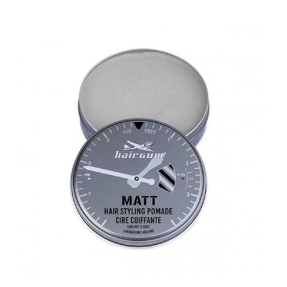 打たれたトラック無限大ピグマリオンhairgum(ヘアガム) Matt Pomade 100g ヘアガム マット 油性 ポマード グリース