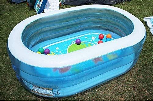 kyman Piscina Plegable, Piscina Inflable para niños, Piscina de Bolas del océano, Piscina de vadear, Piscina de jardín, Parque de Agua Inflable para Juguetes Peng Peng