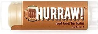 Hurraw Root Beer Lip Balm, 4.3 grams