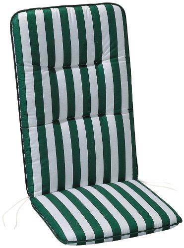 BEST 05080269 Coussin Monobloc pour Chaise à Dossier Bas 80 x 43 x 5 cm